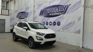 2018 Ford EcoSport SES W/ 2.0L, NAV Overview | Boundary Ford