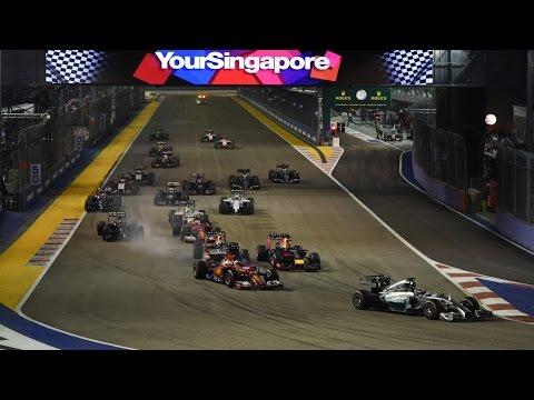 F1 2015 Massa Singapore GP
