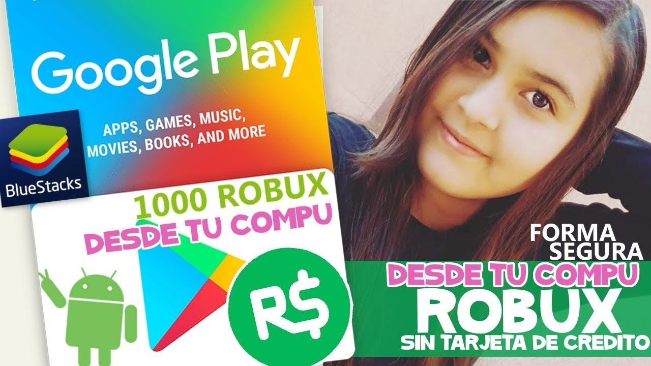 Como Comprar Robux Con Tarjeta De Google Play Easy Robux Comprando Robux Con Tarjetas Google Play En Computadora Tutorial Conseguir Robux Samymoro Youtube