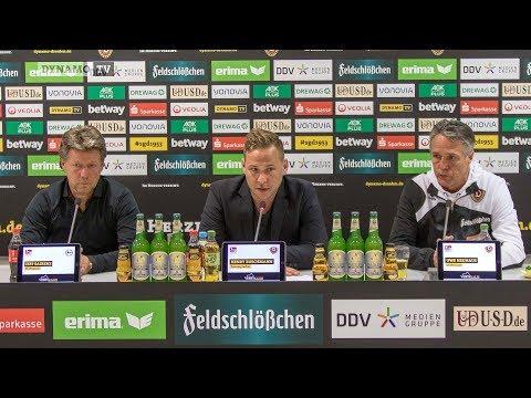 7. Spieltag | SGD - DSC | Pressekonferenz nach dem Spiel