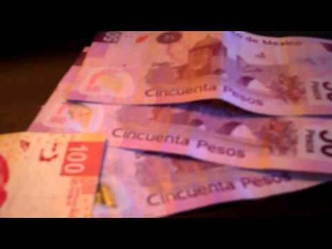Monterrey Mexico Usd Worth Of Mexican Pesos Looks Like Lot Of Money Ha Ha