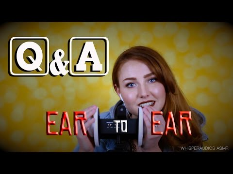 "ASMR - Q&A Binaural Ear to Ear Whisper - Winner of ""3Dio Testing"" Competition"