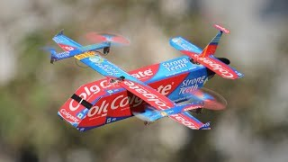 How To Make a Airplane With Drone - Colgate aeroplane
