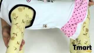 $4.76 Pet Dog Skirt Printed Dress White Size Xs-15001239