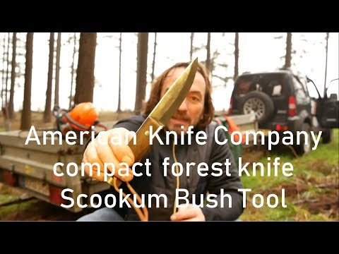 American Knife Company Compact Forest Knife