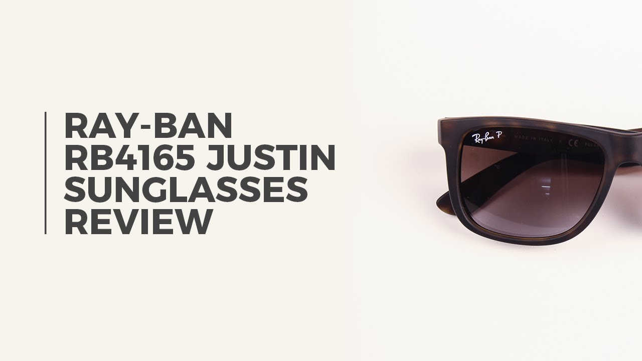 1a6d3efe591f Ray Ban RB4165 Justin Polarized Sunglasses Review