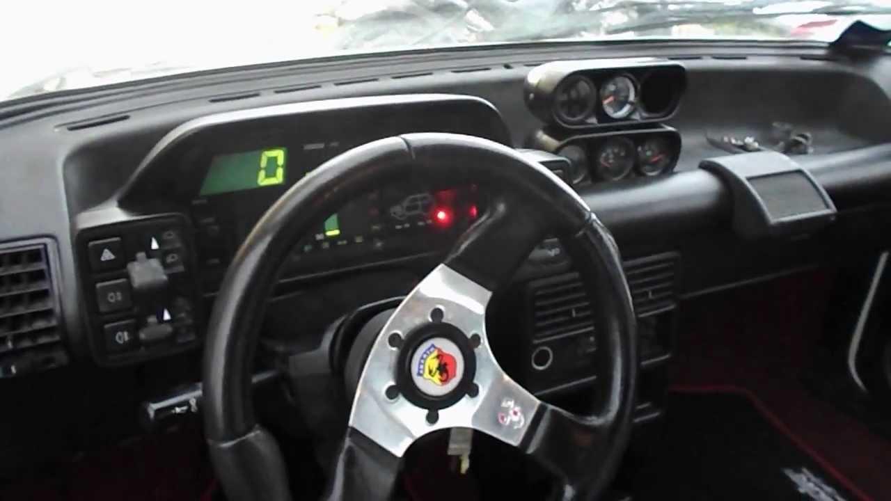 dscn5065 fiat uno turbo ie 300 cv 1987 motore lancia