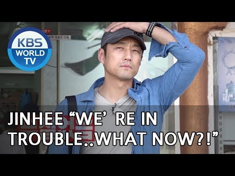 """Ji JInhee """"We're in trouble. What now??""""  [Where On Earth??/ 2018.06.13]"""