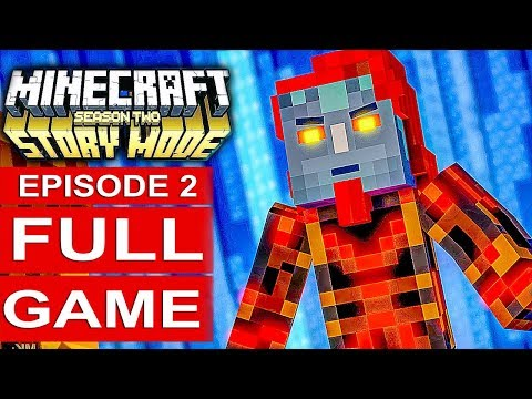MINECRAFT STORY MODE SEASON 2 EPISODE 2 Gameplay Walkthrough Part 1 FULL GAME - No Commentary