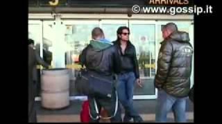 Veronica Ciardi on GossipTV - marzo 2010 - Arrivo a Linate con ex concorrenti GF10