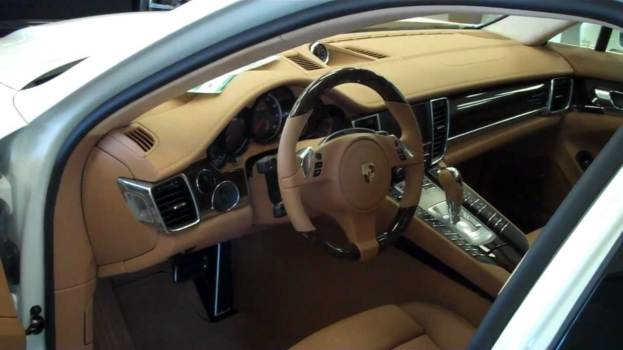 2012 Porsche Panamera Turbo Interior  YouTube
