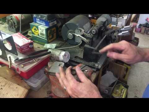 Antique Desk Lock Barrel Key Make