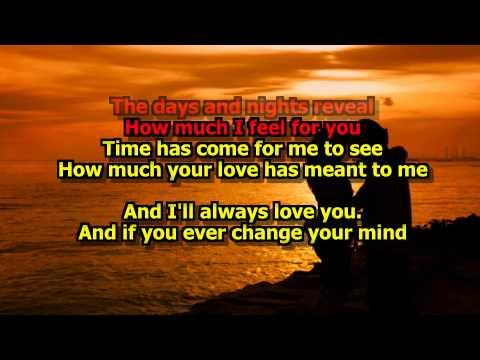 I'll Always Love You - (Karaoke HD) Michael Johnson