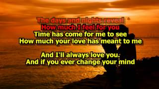 I'll Always Love You - (Karaoke HD) Michael Johnson