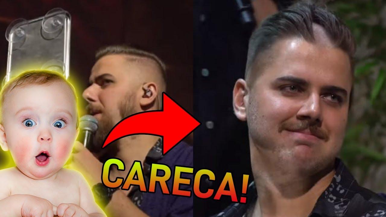 FILHO de ZÉ NETO se ASSUSTA ao ver a nova aparência do pai CARECA!!
