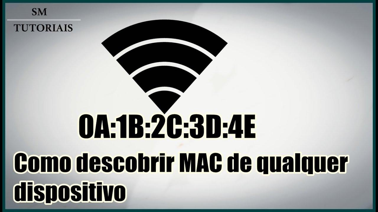 Localizar celular pelo mac address