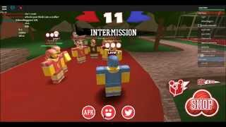 DOGEBALL?! - Marc Plays Roblox Games: Dodgeball (w/ Snice) (Episode 7 Part 2)