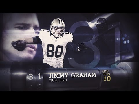 #31 Jimmy Graham (TE, Saints/Seahawks) | Top 100 Players of 2015