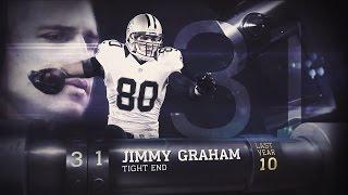 #31 Jimmy Graham (TE, Saints/Seahawks) | Top 100 Players of 2015