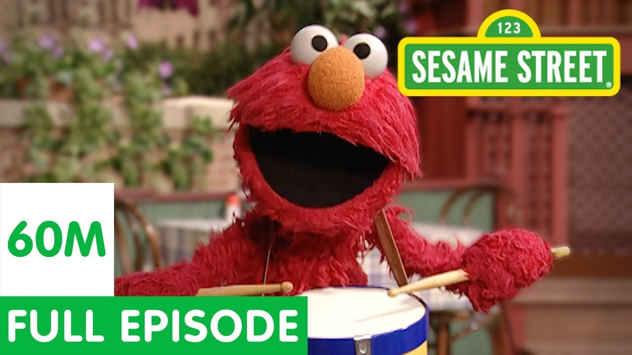 Elmo's Furry Red Monster Parade | Sesame Street Full Episode