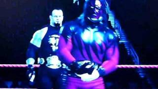 smackdown Vs raw 2011 MASKED KANE AND MINISTRY OF DARKNESS UNDERTAKER CUSTOM ENTRANCE