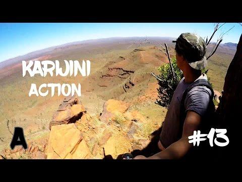 Kaijini Nationalpark - Schluchten klettern und Bergsteigen | Work and Travel Australia