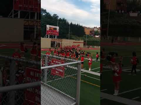 2018 North Hills middle school football