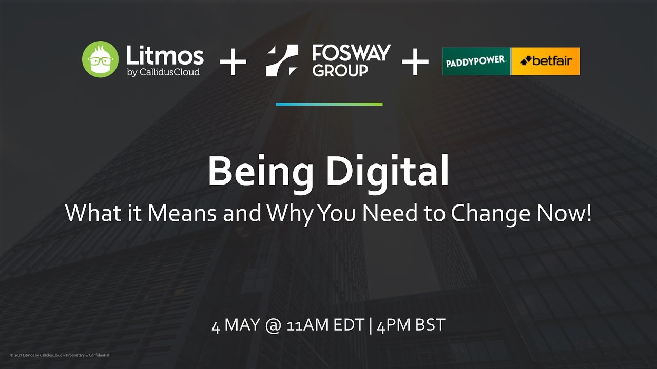 4Pm Bst being digital: what it means and why you need to change now