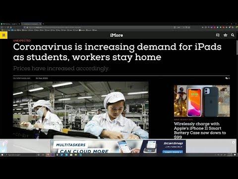 Apple Moves to Avoid Coronavirus