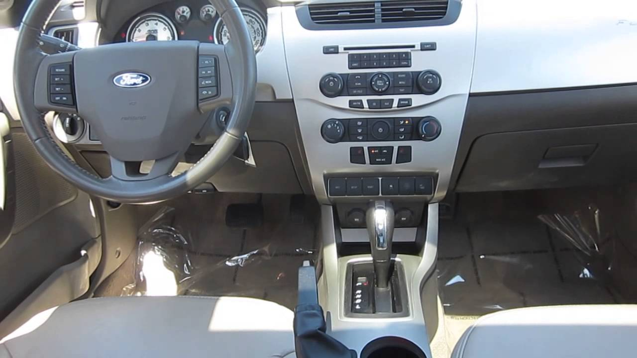 2010 Ford Focus Blue Stock Aw242610 Interior