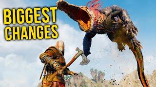 God of War Ragnarok: 10 BIGGEST CHANGES