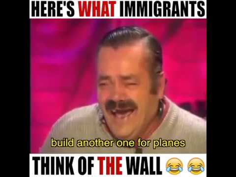 Funny Trump Wall Meme : Funny mexican reaction to trump s wall what about planes