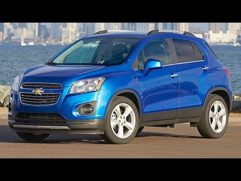 2016 Chevy Trax Review.   Small and tall