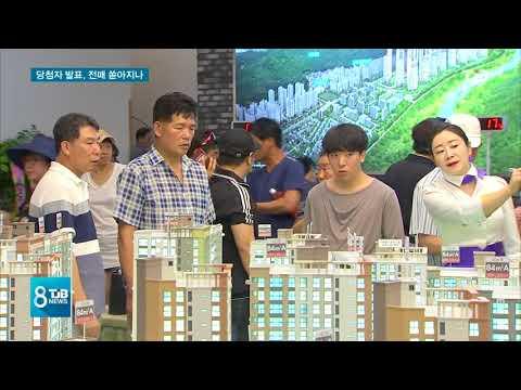 [TJB뉴스] 호수공원 3블록 발표, 불법 전매 '스멀스멀'