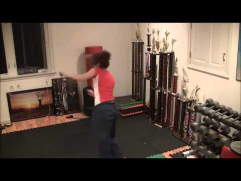 Karate Shotokan Girl - Kicking Vlog