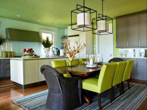Apple Green Dining Room Decor Youtube