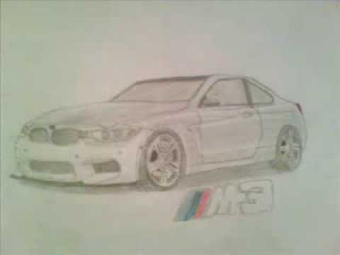 Drawing Bmw M3 Youtube