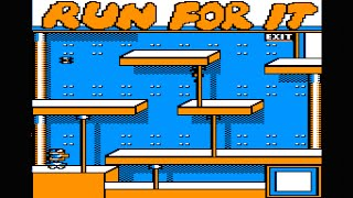 Run For It longplay with cheats (Apple II - Weekly Reader Family Software)