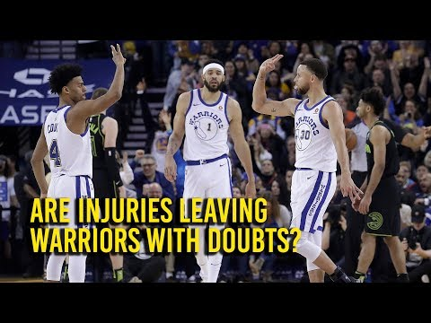 With rash of injuries, are the Golden State Warriors having playoff doubts?