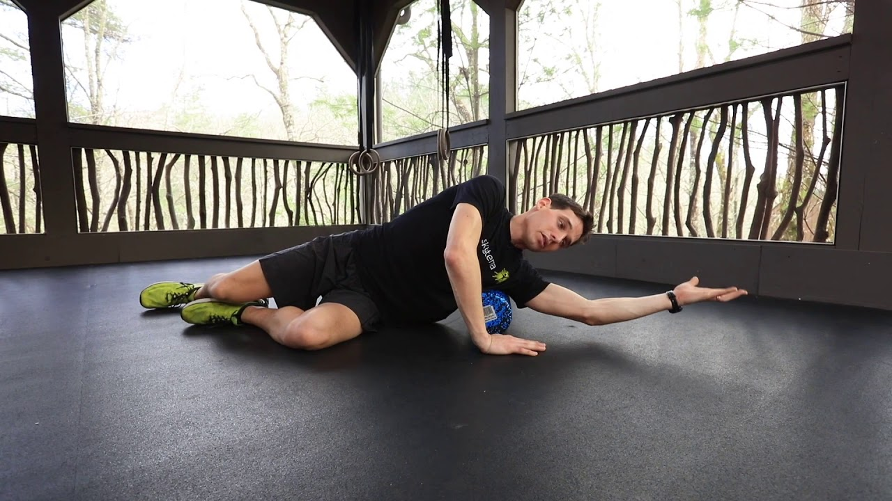 Mobility Library: Foam Rolling the Lats