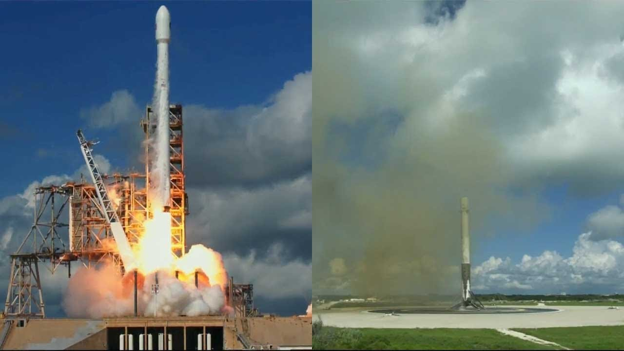 falcon 9 launches x 37b otv 5 falcon 9 first stage landing 7 september 2017