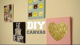 ✂ Diy Wall Decor: Custom Canvas
