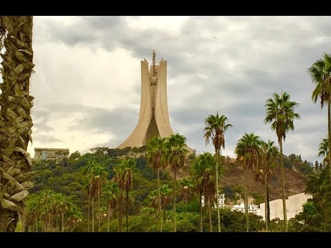 "The Martyrs' Memorial, Algiers 2017 ""مقام الشهيد"""
