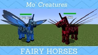 Mo Creatures How To Get The Fairy Horse Every Step Youtube