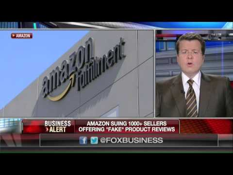 Can Amazon sue  sellers for 'fake' product reviews?