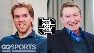 Wayne Gretzky and Connor McDavid Have an Epic Conversation | One-on-One | GQ Sports