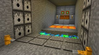 Hidden Traps in Minecraft Pocket Edition (17 Redstone Traps)