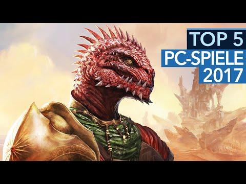 Top 5 - Die besten PC-Spiele 2017 nach GameStar-Wertung