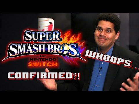 DID REGGIE CONFIRM SMASH BROS. FOR NINTENDO SWITCH?!
