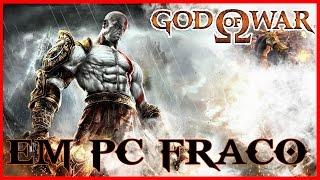 GOD OF WAR 1 -  RODANDO EM PC FRACO ?! GAMEPLAY TESTE!!!